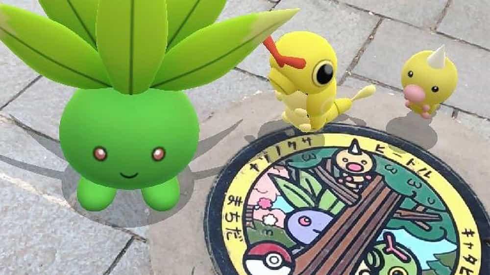 Las tapas de alcantarilla Pokémon están aquí para alegrar tu día