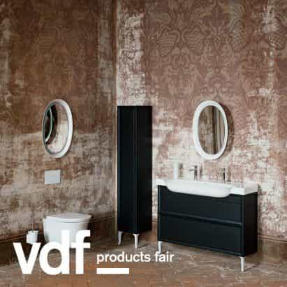 Laufen presenta colaboraciones baño de diseño en productos VDF justo