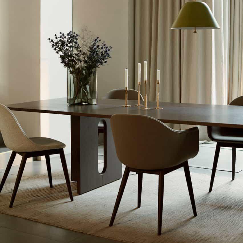 Androgyne Dining Table de Danielle Siggerud para Menú