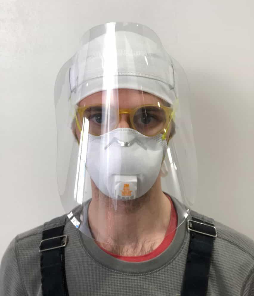 RISD Alumni protectores faciales
