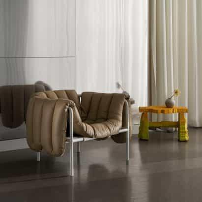 Hinchada de la silla de salón por Faye Toogood de Hem