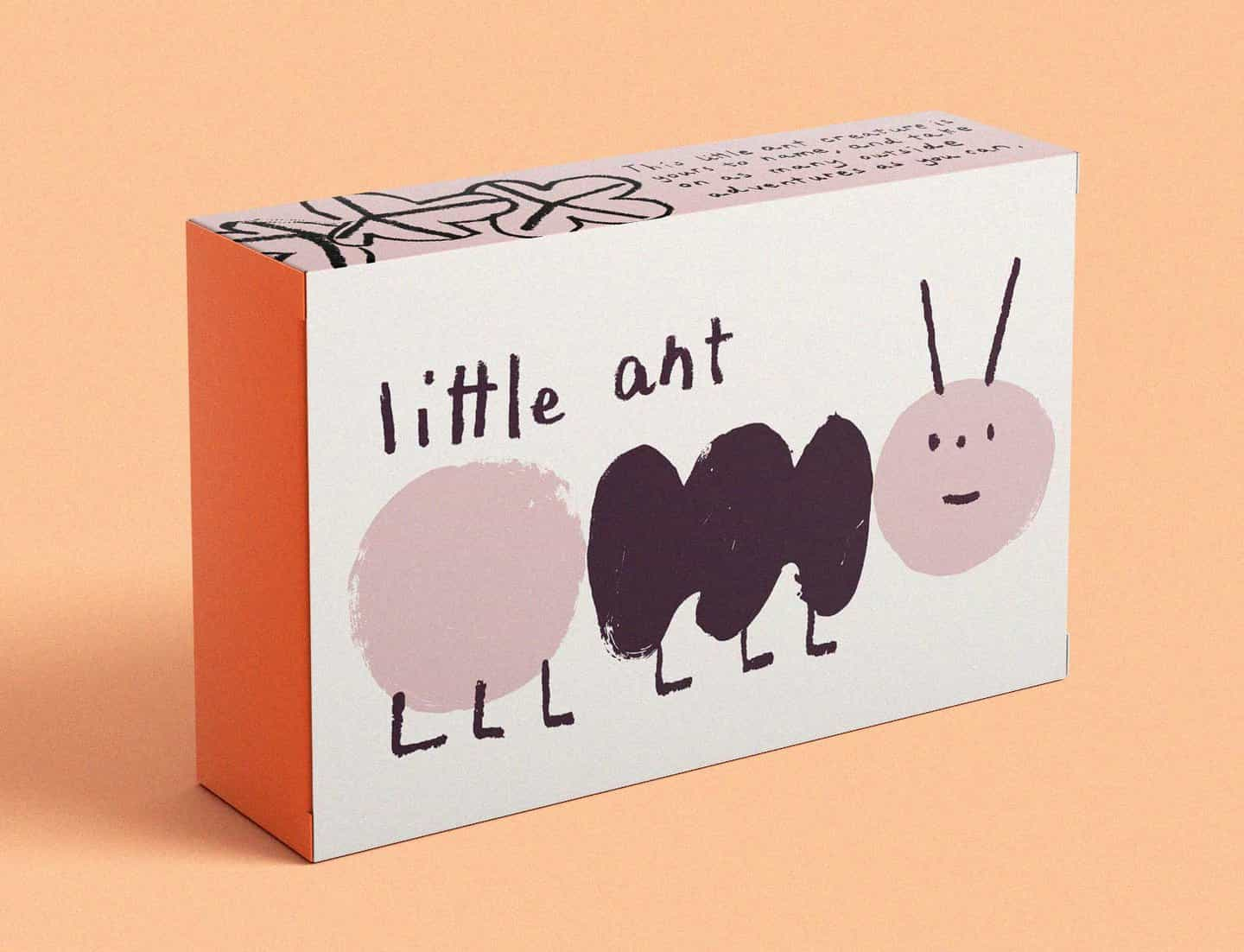 Cara Rooney: Little Ant Packaging (Copyright © Cara Rooney, 2019)