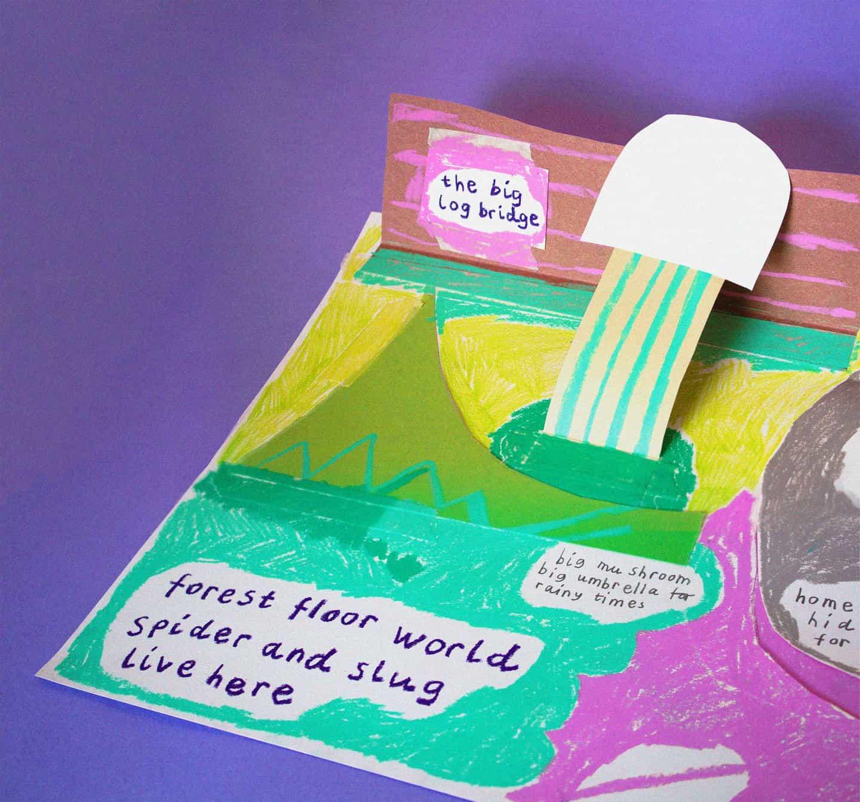Cara Rooney: Pop-up Bug World, Semana de Arte bugs de Carla Sonheim (Copyright © Cara Rooney, 2020)