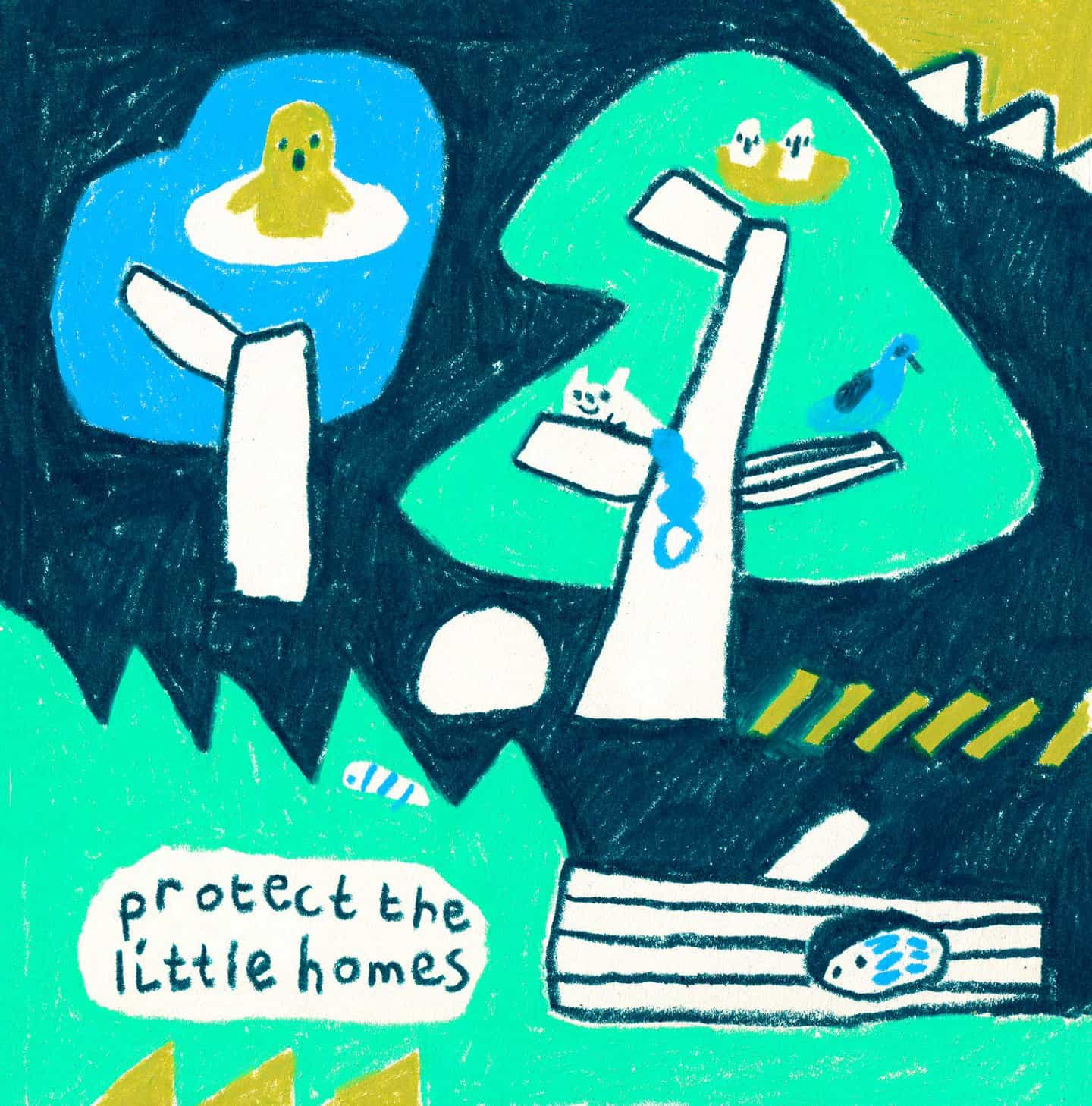 Cara Rooney: Protect the Little Homes (Copyright © Cara Rooney, 2021)