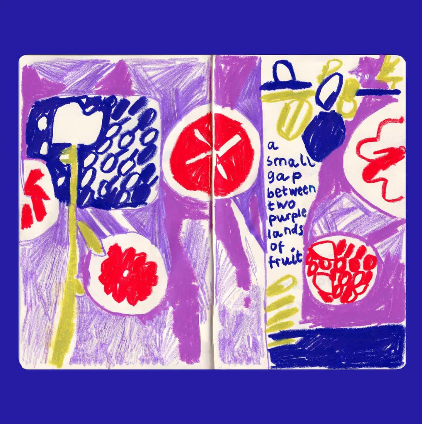 Cara Rooney: Tierras púrpuras, still here still life (Copyright © Cara Rooney, 2020)