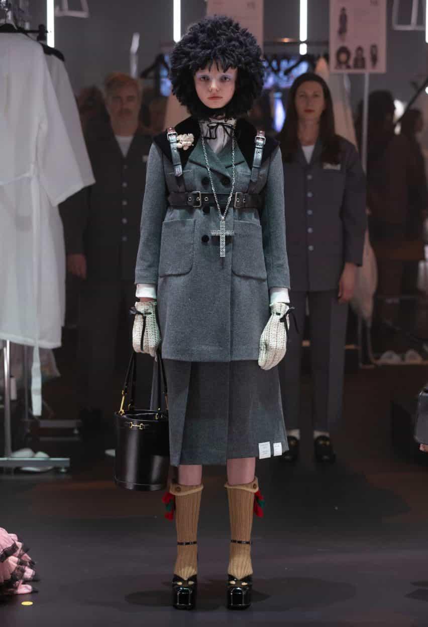 Alessandro Michele reenfoca preparación detrás del escenario como el acto principal de Gucci A / W 2020 muestran