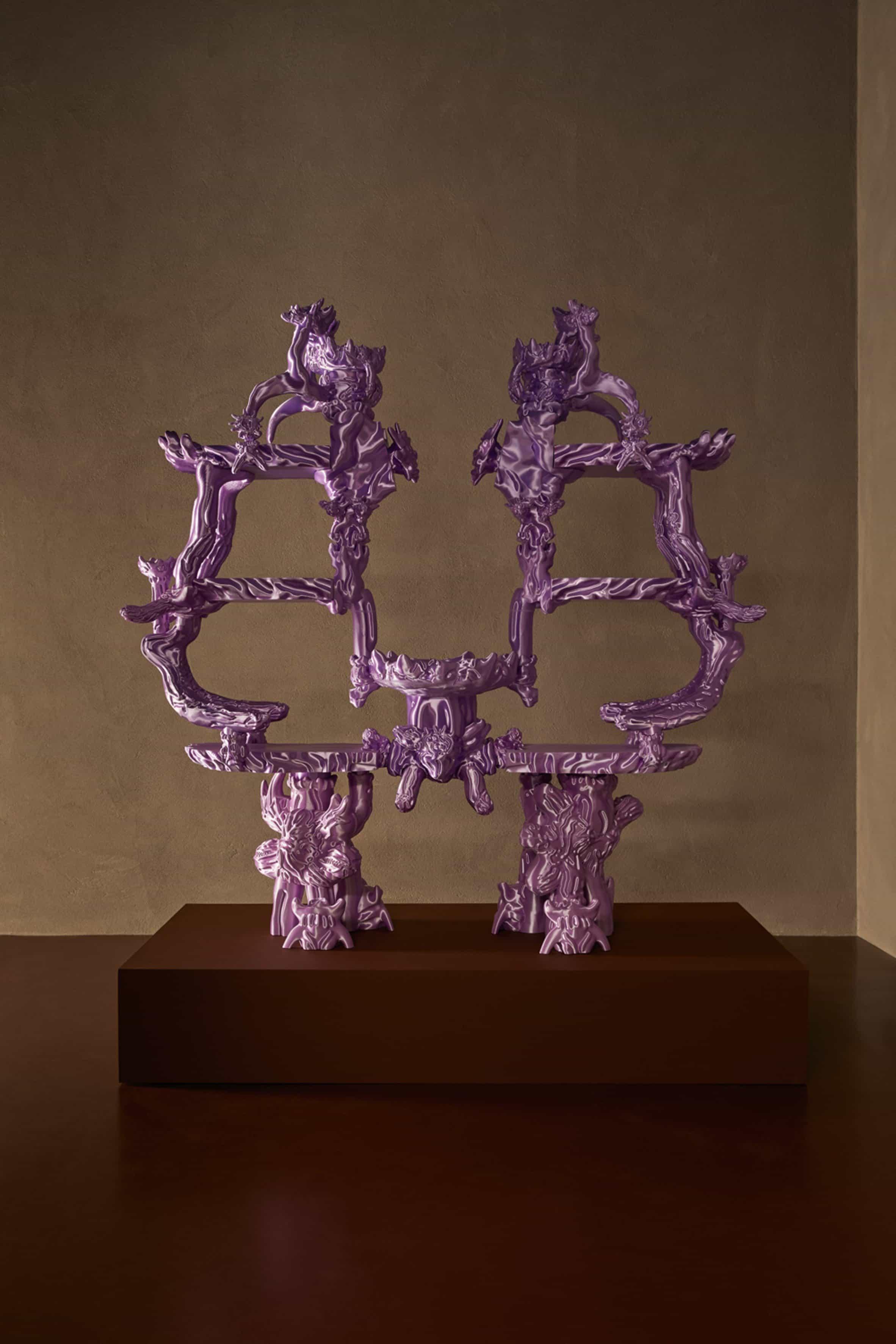 Escultura impresa en 3D por Audrey Large