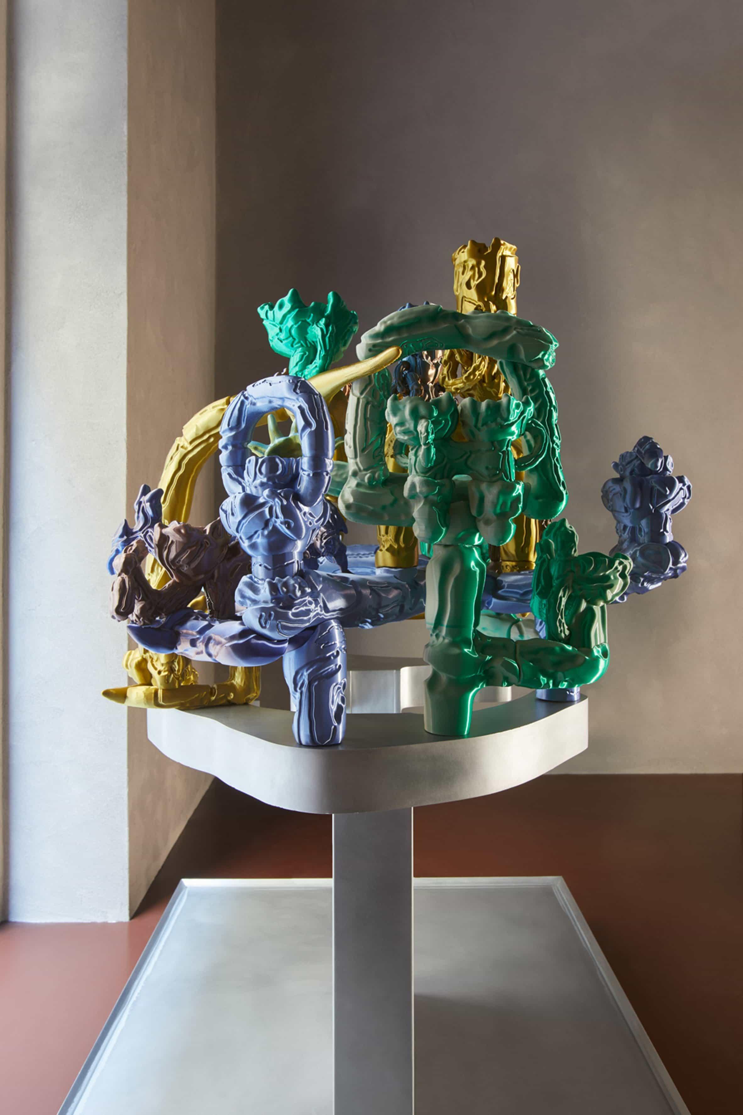 Escultura de Audrey Large