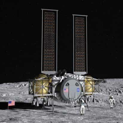 La NASA selecciona almizcle y Bezos para diseñar módulos de aterrizaje de 2.024 misión de la primera mujer en la luna de la tierra