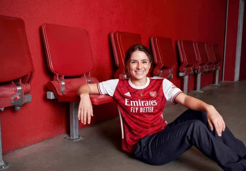 Arsenal camisa 2020/2021 hogar de Adidas