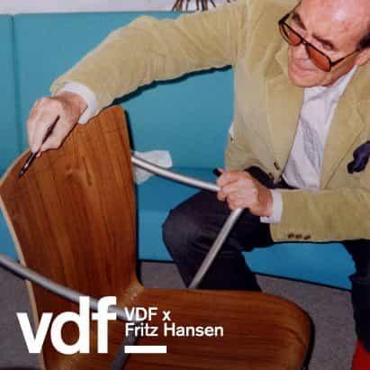 Fritz Hansen celebra 100 años de Vico Magistretti con re-lanzamiento de la silla de Vico Duo