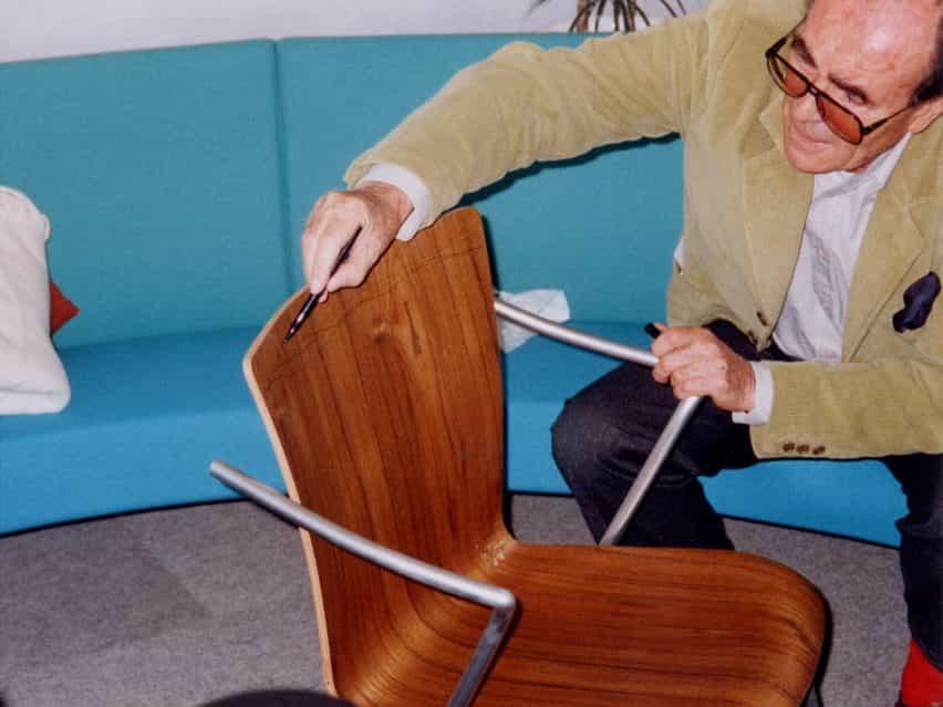Fritz Hansen y Virtual Design Festival celebran 100 años de Vico Magistretti