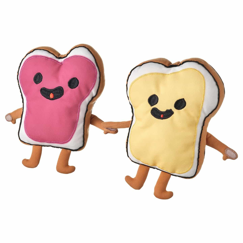 Conoce a Sandwich Friends, uno de los nuevos juguetes blandos de Ikea basados en dibujos para niños