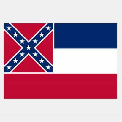 Mississippi para rediseñar la bandera del estado para eliminar Confederación emblema