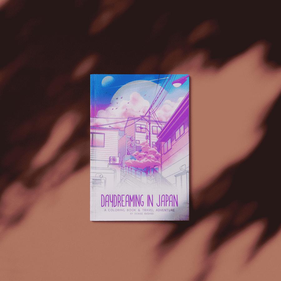 Nuestro buen amigo Denise Rashidi lanzó su nuevo libro titulado: El soñar despierto en Japón. No es cualquier tipo de libro, es un libro para colorear! Este libro utiliza su estilo, 'pastel-ish' e ilustraciones detalladas de los callejones ocultos de Japón. Usted sabe que mi amor por el país de Japón, Denise hace un trabajo notable para ilustrar su autenticidad y añadiendo también su propia firma.