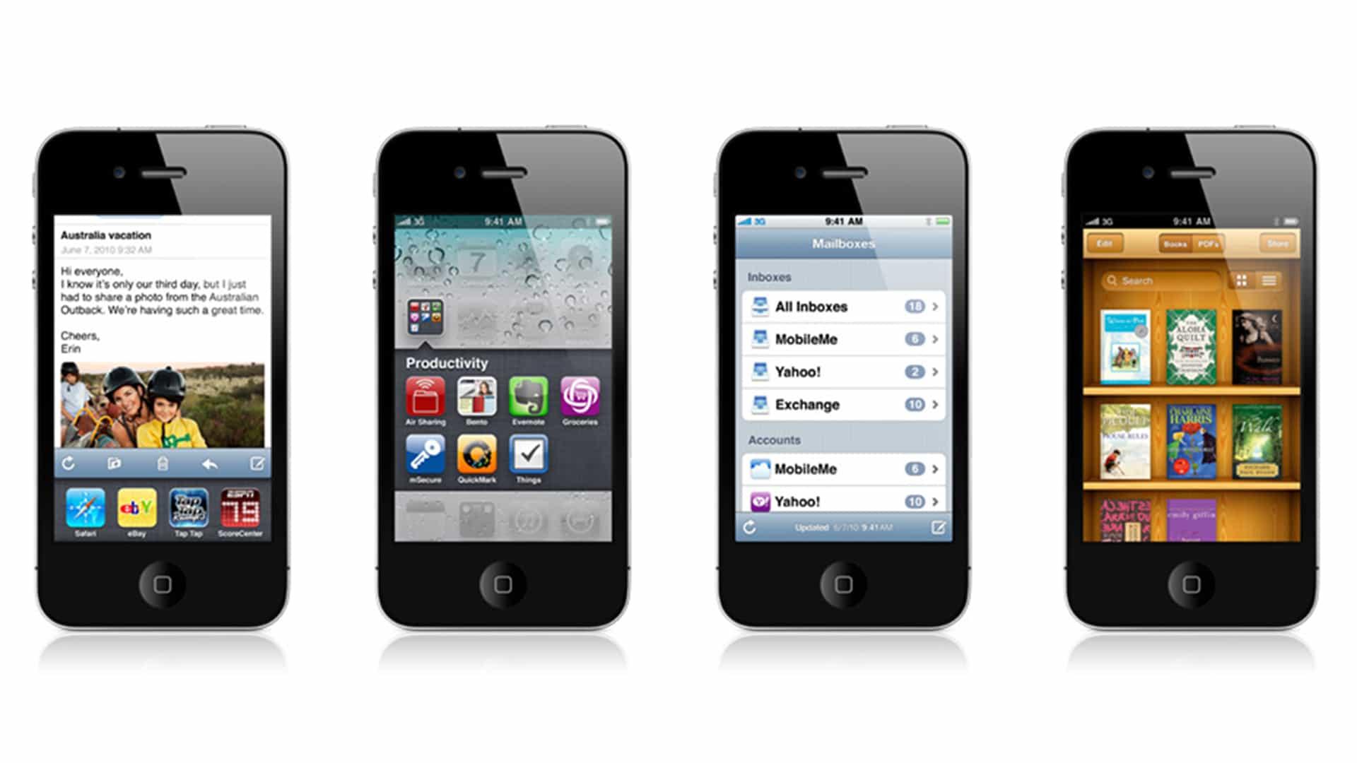 Alguien acaba de convertir iOS 4 en una aplicación para iPhone, y la necesitamos ahora