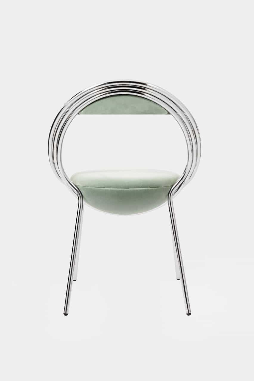 Maestro silla de Lee Broom se estrenó en el Festival de Diseño de Londres