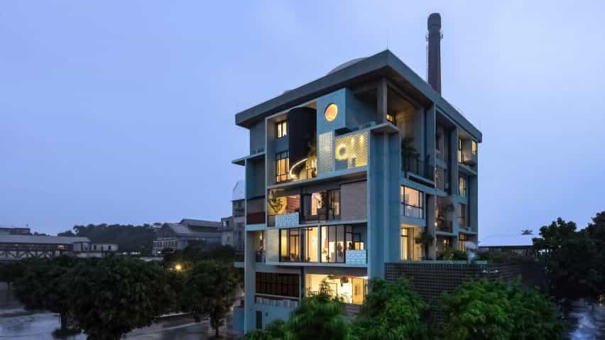 Bloque de apartamentos en Guangzhou por Fei Architects