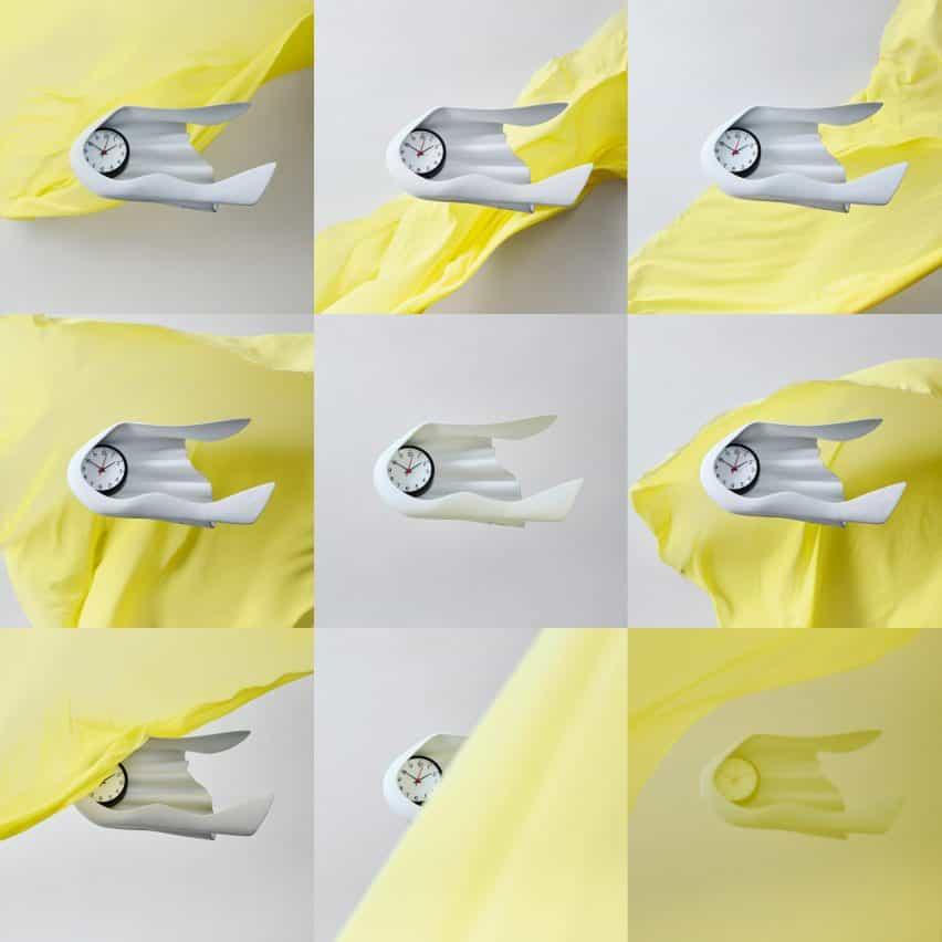 Daniel Arsham reloj de pared para Ikea Art Event 2021