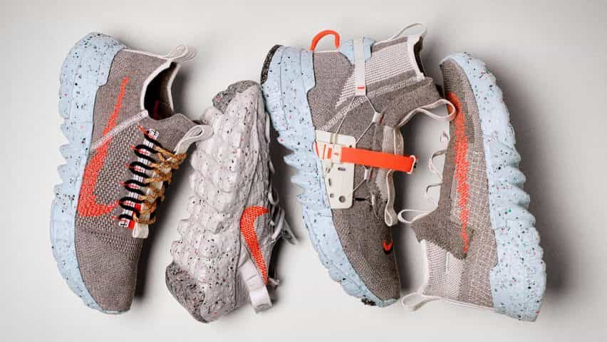 Nike lanza calzado Espacio Hippie a partir de desechos de las fábricas reciclado