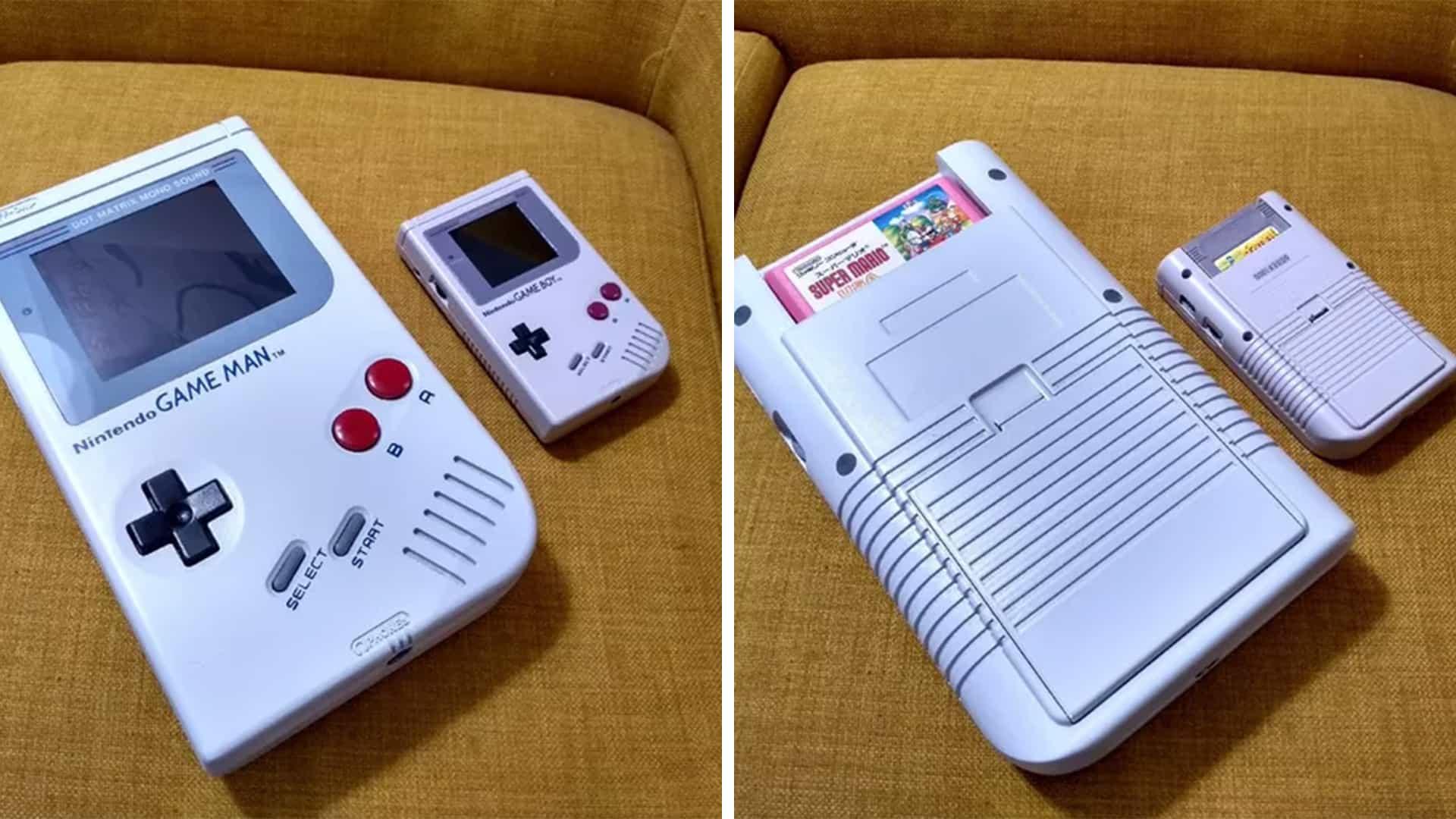 Este enorme mod de Nintendo Game Boy es absolutamente ridículo (y nos encanta)