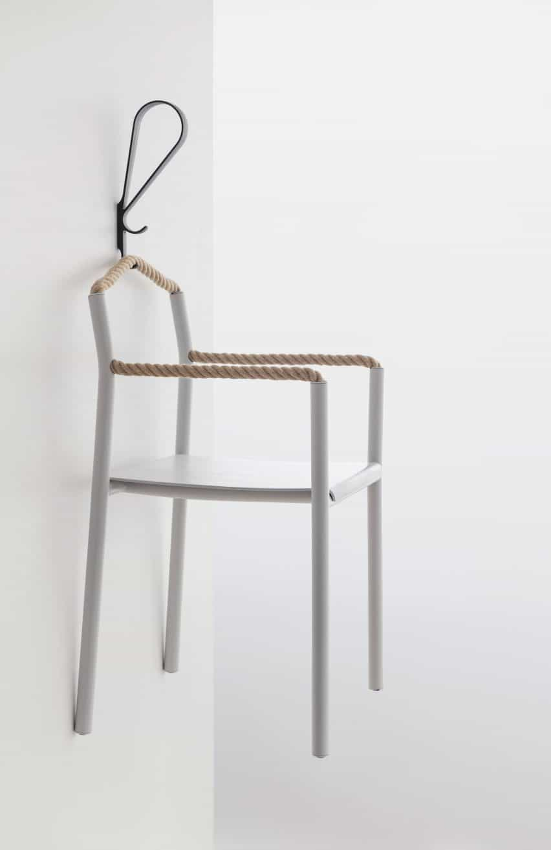 hermanos Bouroullec crean Presidente de la cuerda con una pieza continua de la cuerda