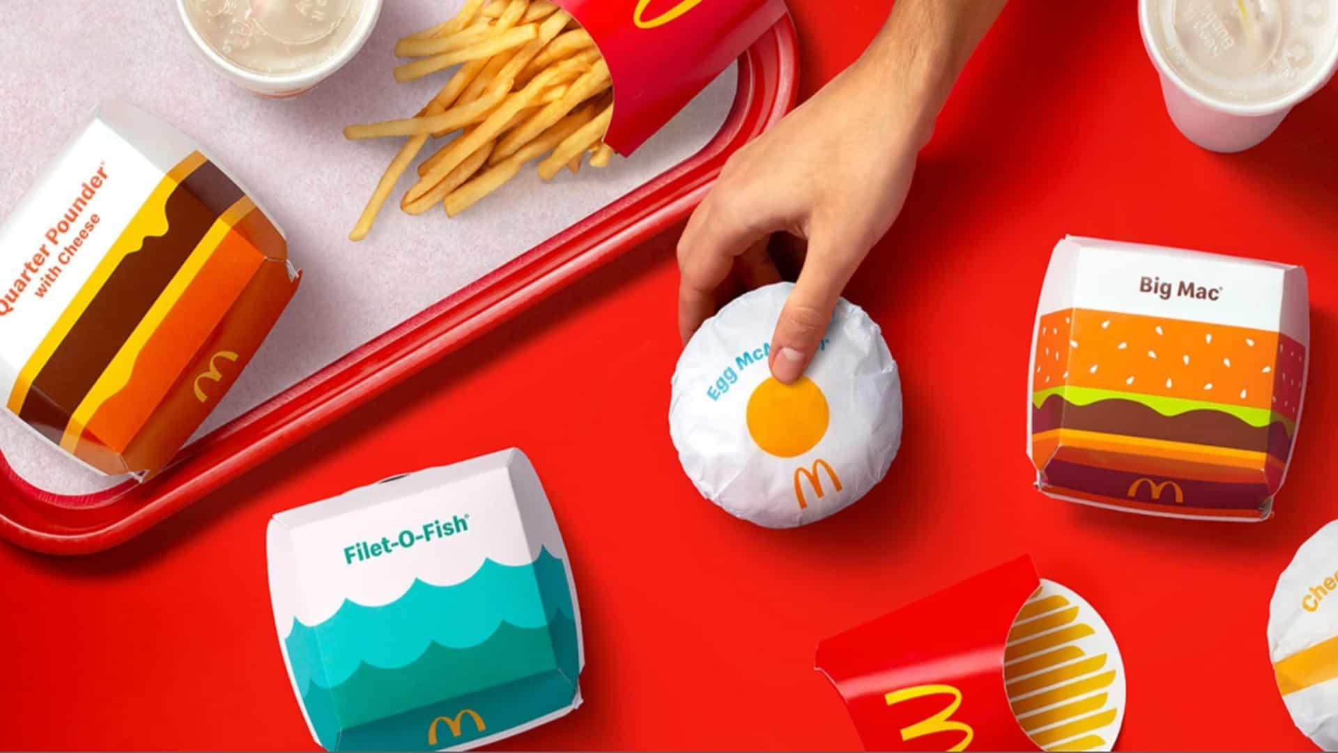 McDonald's revela un nuevo look sorpresa (¿pero puede llevarse la corona de Burger King?)