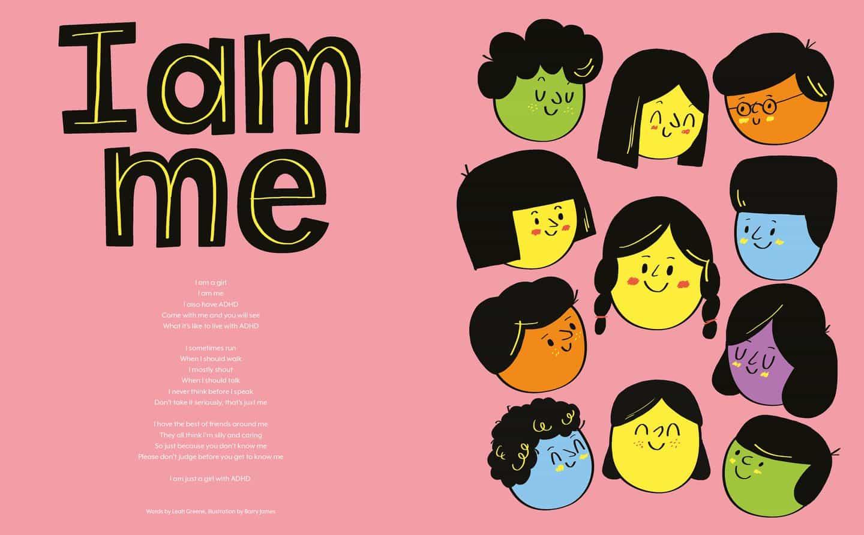 Historias que nunca estar quieto celebra el cerebro TDAH, con ilustradores exclusivamente para el TDAH