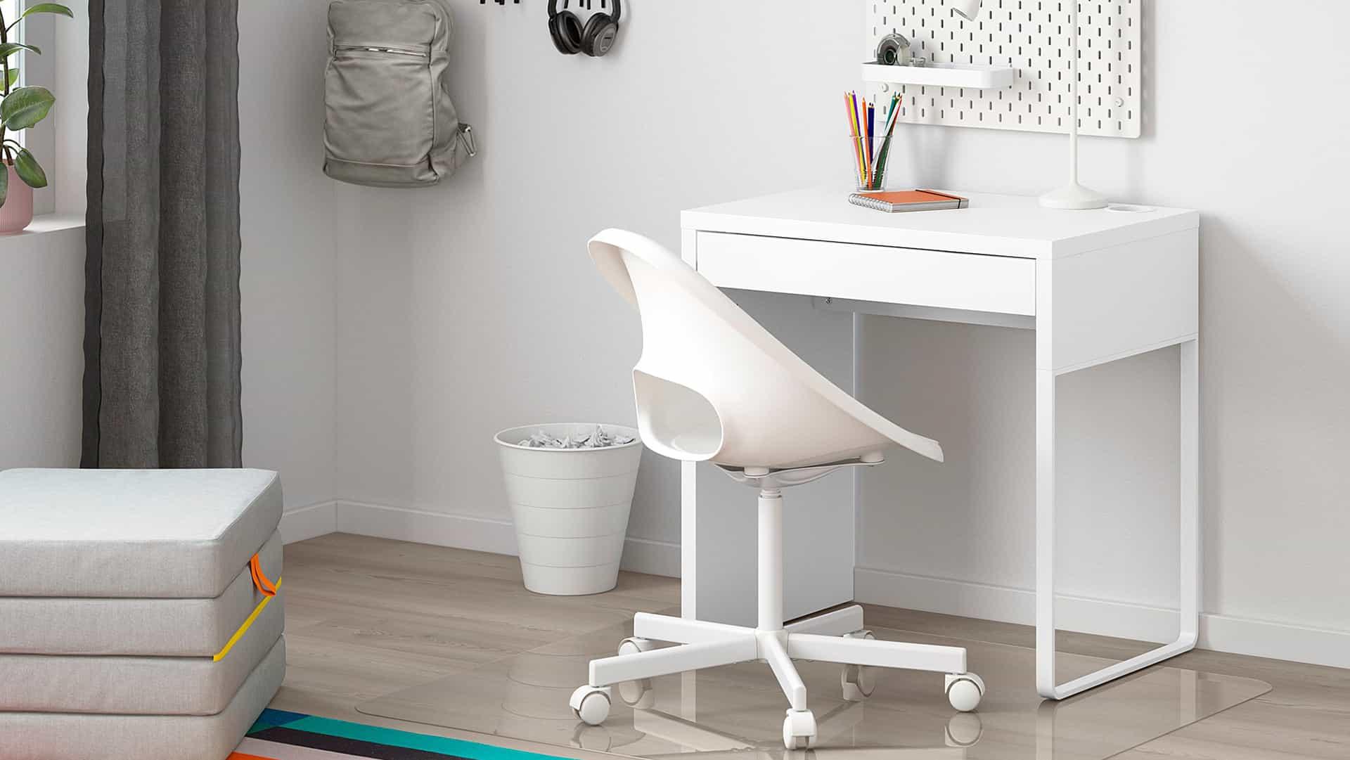 Mejor escritorio para espacios pequeños 2021: Opciones compactas para habitaciones pequeñas