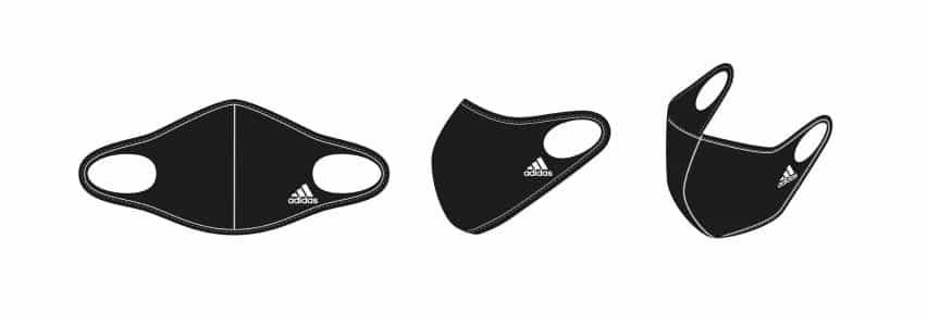 Cubierta cara mascarilla por Adidas