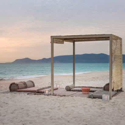 Garden Layers muebles de exterior de Patricia Urquiola para Gan