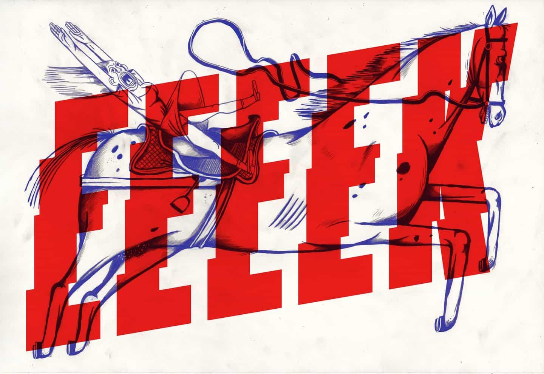 Onomatopee es una exploración visual del sonido a través de tipografía e ilustración entrelazadas