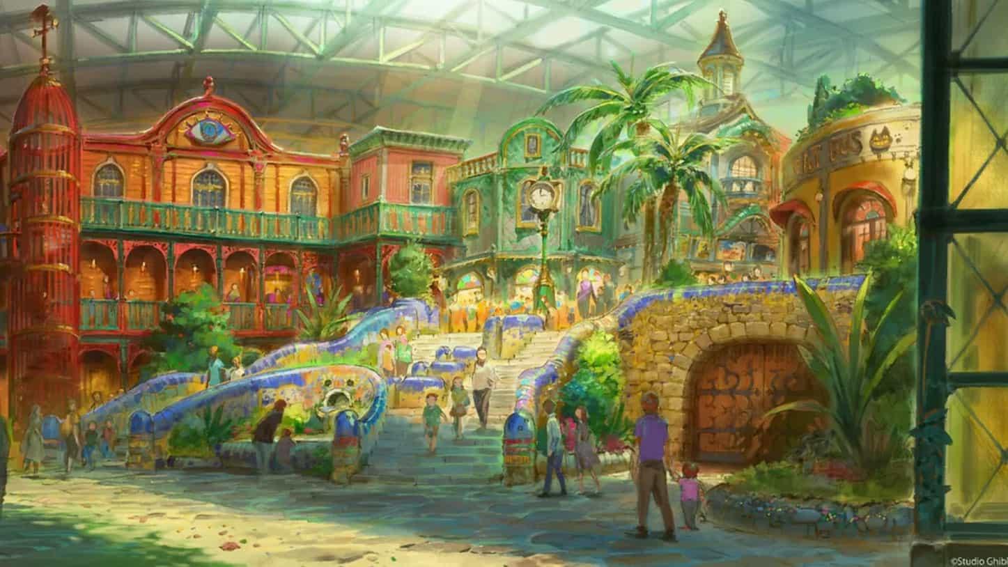 Studio Ghibli revela un impresionante arte conceptual para el próximo parque temático