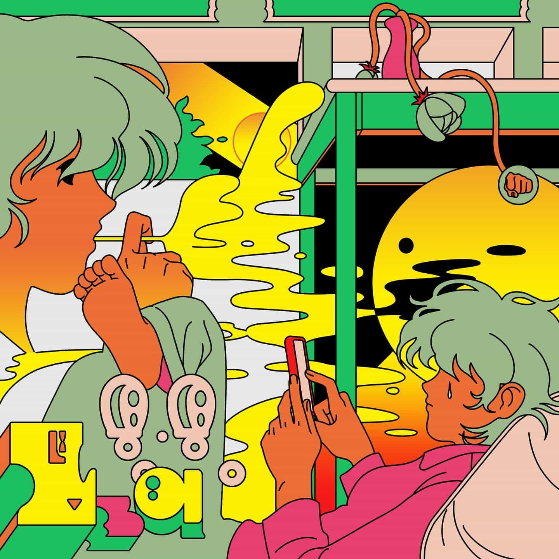 Jinhwa Jang: Ilustración semanal (Copyright © Jinhwa Jang, 2021)