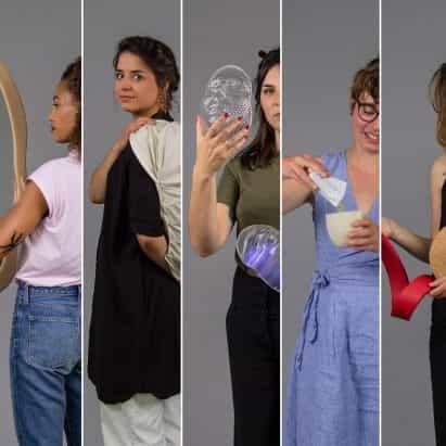estudiantes de diseño de productos en la Escuela de Arte de Lucerna y Diseño tratan problemas sociales del racismo a capacitismo