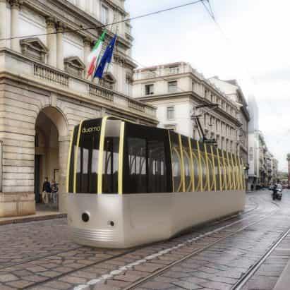 Arturo Tedeschi rediseña histórico tranvía de Milán por un mundo post-Covid