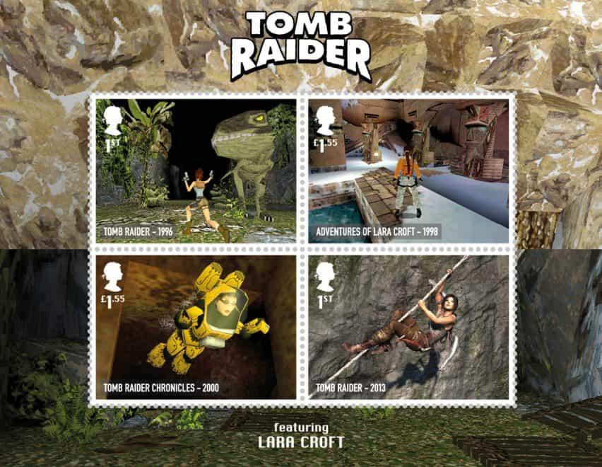la colección de sellos Royal Mail homenaje paga a seminales videojuegos británicos