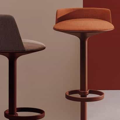Andreu World, Ross Gardam y objetos de alfombras mostrar los productos en Showroom Dezeen