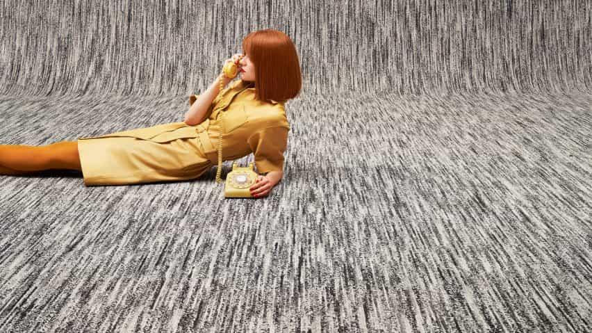 MEET × alfombra Beat de Ippolito Fleitz Grupo de objetos de alfombras