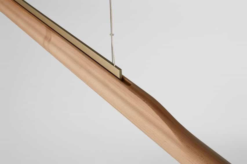 Arbor de luz lineal por Ross Gardam