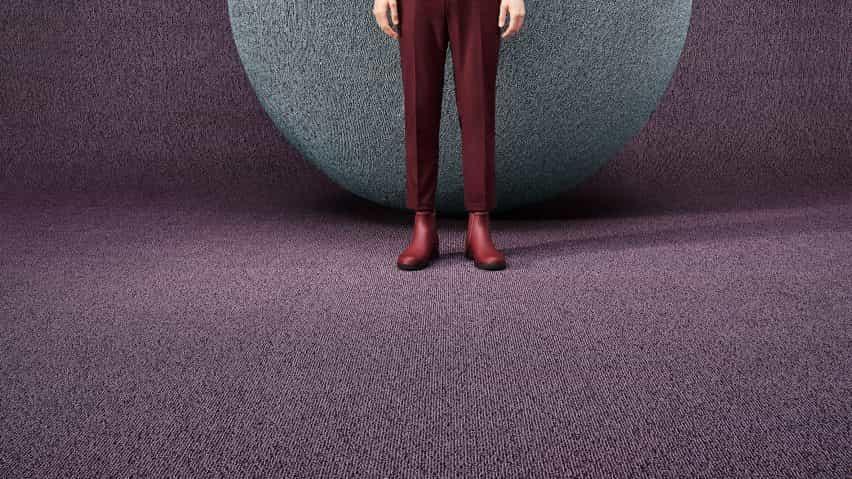 Trato x alfombra Feel de Ippolito Fleitz Grupo de objetos de alfombras