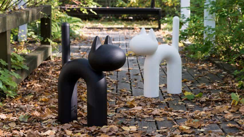 El ornamento gato Kisu Eero Aarnio por