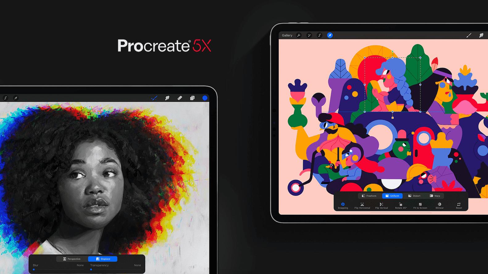 Atención, usuarios de iPad: Procreate es aún mejor