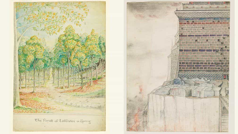 El Señor de los Anillos se lanzará con el arte de JRR Tolkien por primera vez en la historia