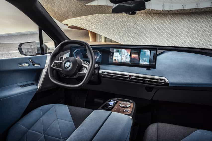 Cabina BMW iX