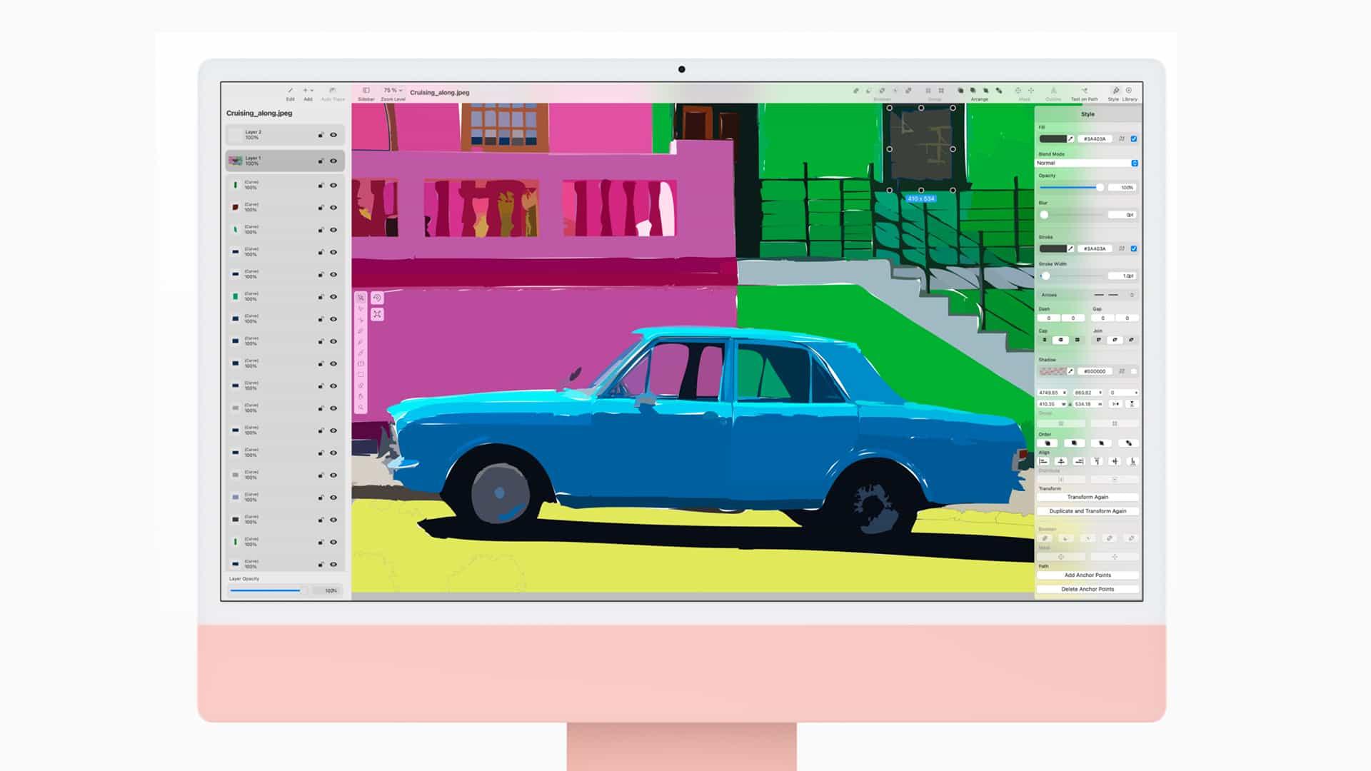 Con el nuevo iMac 2021, Apple vuelve a su estilo retro y divertido