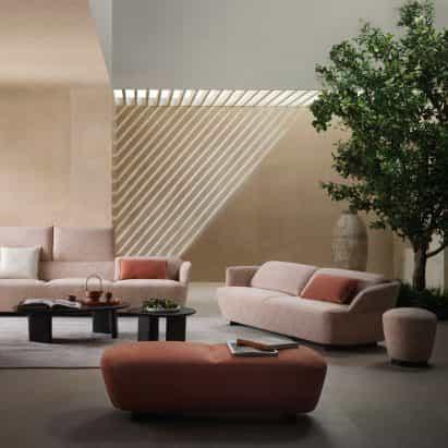 Muebles de exterior, escritorios y sofás de King aparecen en dezeen Showroom