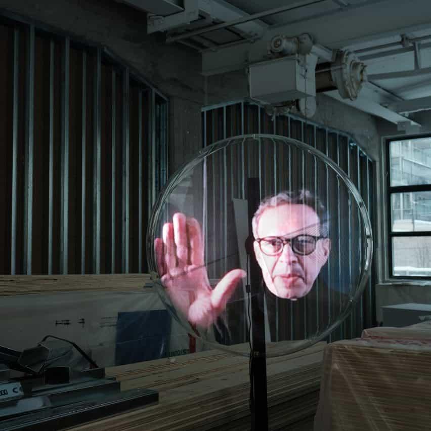 Holograma de Tom Dixon