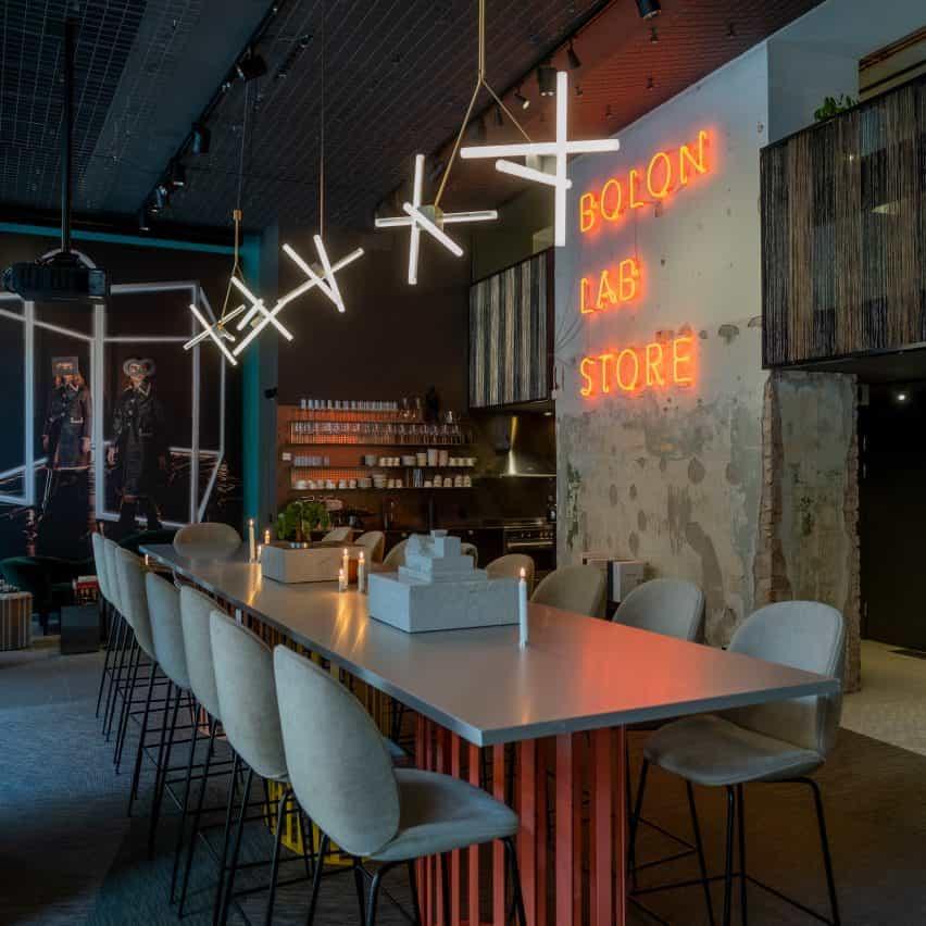 Showroom de Bolon en la Stockholm Design Week