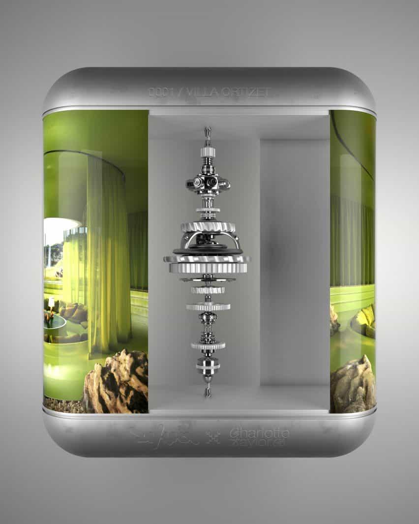 Proyectos de arquitectura de fantasía de Anthony Authié y Charlotte Taylor